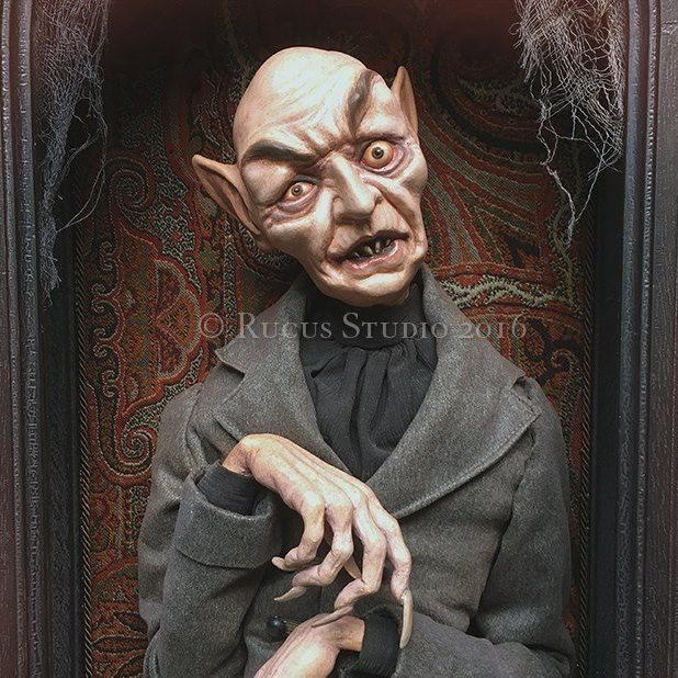 Nosferatu by Scott Smith © 2016 Sold at Ghoultide Gathering