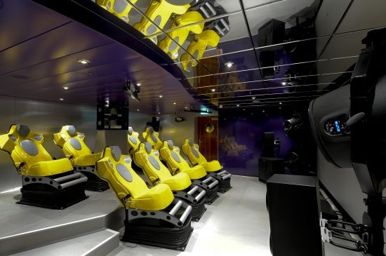 MSC Magnifica - 4D Cinema