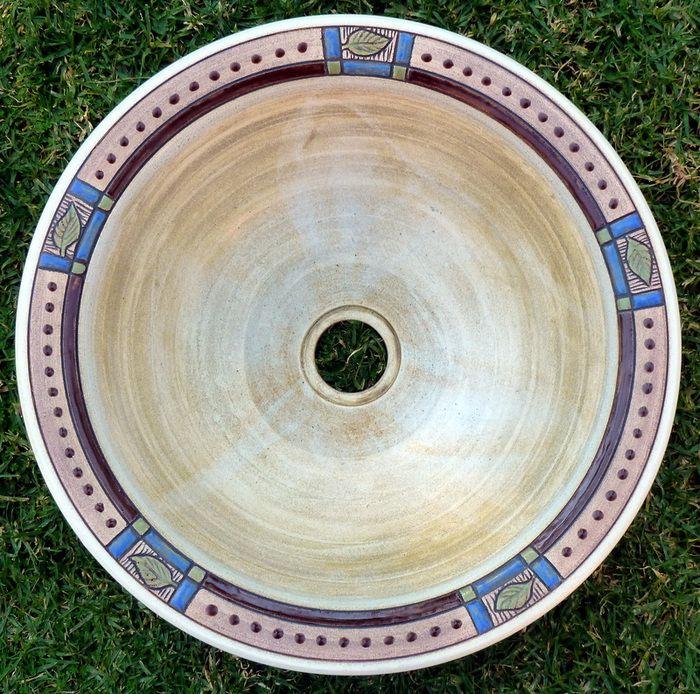 Basins and Prep Bowls Gallery Item r-1828 - Rhoda Henning's Pottery Studio