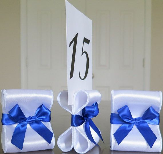 Wedding Table Number Holders Set Of Ten 10 By ReservedSeating 3500
