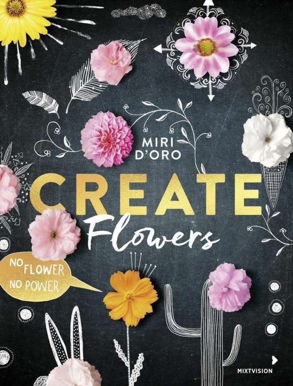 Create Flowers ▪ Neues Buch