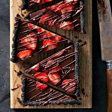 No-Bake Chocolate Ganache Tart - FamilyCircle.com