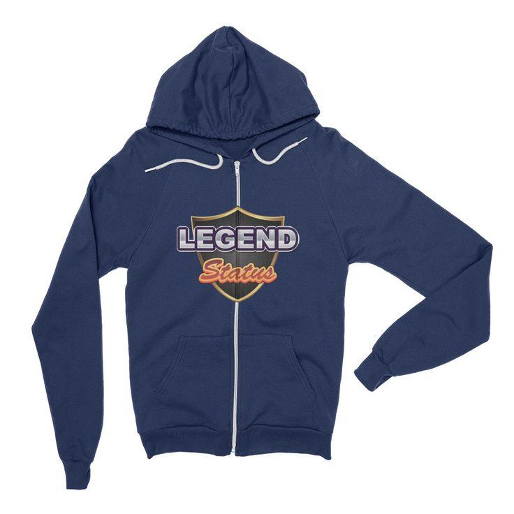 Legend Status - Zip Hoodie