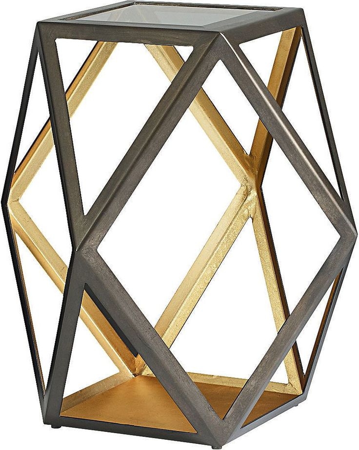 Thomasville Furniture Modern Artefacts Rhombus Accent Table