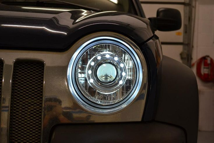 Custom Jeep Liberty Grill | Custom HID Projectors! - Jeep Liberty Forum - JeepKJ Country