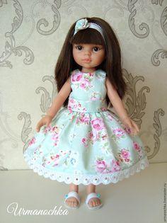 Подробный мастер-класс: шьем очаровательное платье для куклы