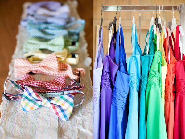 very fun, invite guests to wear their brightest colors!