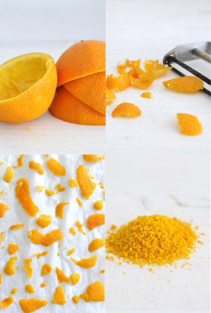 Le DIY poudre d'orange : facile et zéro déchet ! En deux coups de mixeur, une poudre délicieuse pour la cuisine et la salle de bain !