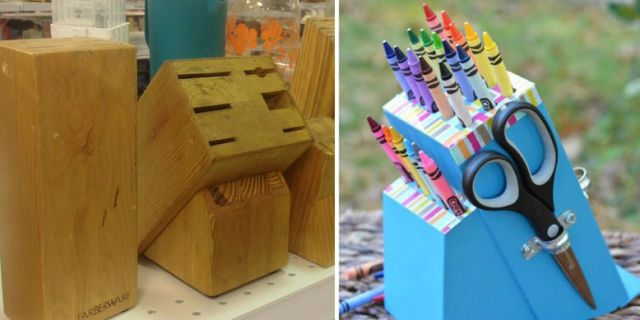 34 Completely Genius Trash-to-Treasure Crafts