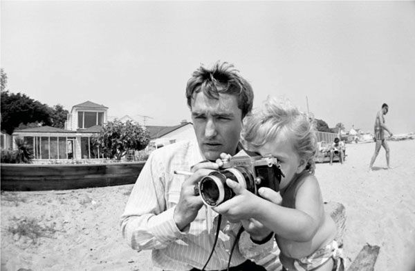 dennis hopper and his daughter, marin • robert walker jr.