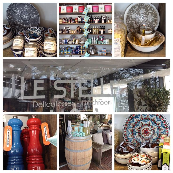 Wisten jullie dat...het prachtige handgemaakte Tunesisch aardewerk, de Portugese wijnglazen, de Le Creuset zout -en pepermolens te koop zijn bij Delicatessen lunchroom Le Stelle in Haren? Mooie geschenken voor uzelf of om weg te geven in combinatie met een van vele heerlijke delicatessen die bij Le Stelle in Haren verkrijgbaar zijn!