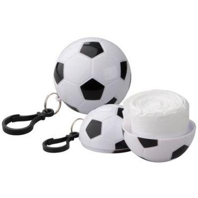 Pelerina - minge de fotbal -  9 RON    Pelerina breloc pentru suporteri, sub forma de minge de fotbal. Poart-o mereu agatata la geanta, nu stii cand incepe ploaia!