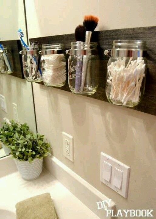 How is the mounted? Great idea for school supply storage, too.