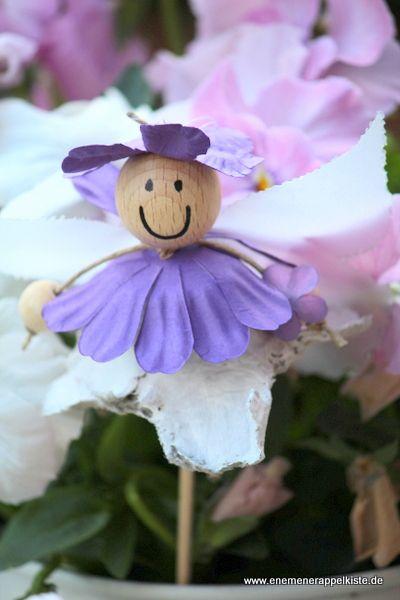 Feilchenfee Als Blumenstecker