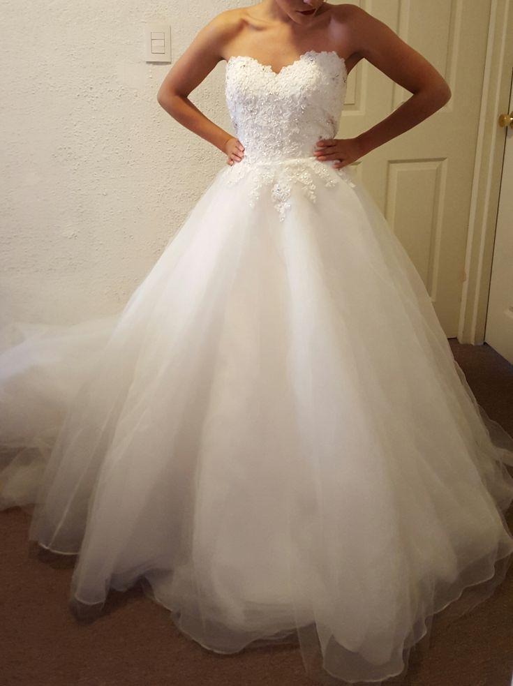 Mejores 587 imágenes de Vestidos de novia en Pinterest | Vestidos de ...