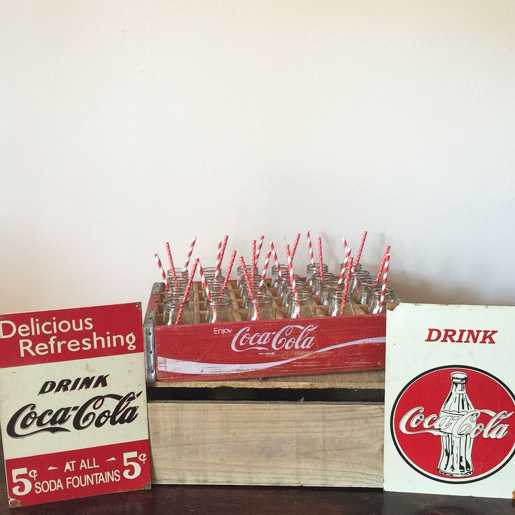 Our Coca-Cola inspired drink station is now available for hire