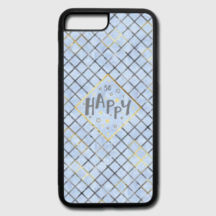 LOTS OF TRENDY MOBILE CASES AVAILABLE AT SPREADSHIRT. #mobile #case #shopping #mobileaccessories #text #textart #modern #pattern #patterndesign #blue #bluedesign #motivation #motivationalquotes #happy #iphone7pluscase #iphone8pluscase