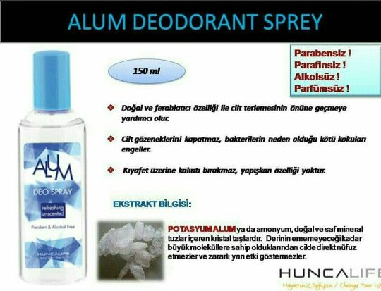 Alum sprey