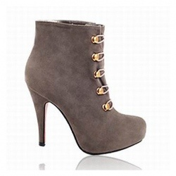 $31.18 New Arrival Sexy and Elegant Style Lace Embellished High-Heeled Boots For Female