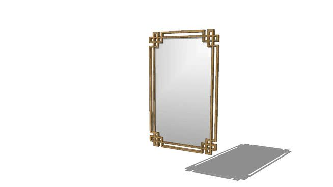 To Scale Imperial Devoll Vanity Mirror By Uttermost 23wx37hx1d