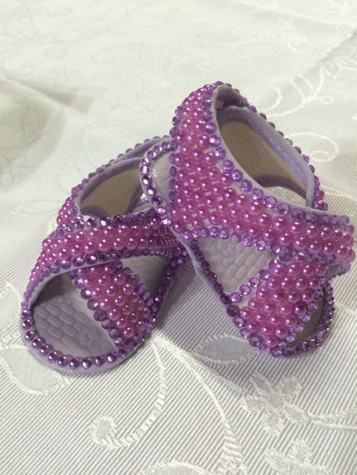 Sandalha lilás