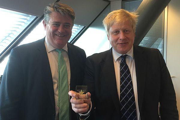 We are proud to say Stephen Greenhalgh, Deputy Mayor for Policing and Crime chose Spaceform to create the gifts he would give the #MOPAC (Mayor's Office for Policing and Crime) team and Boris Johnson as a #thankyou gift for their hard work. #Spaceform #London #gifts #BorisJohnson