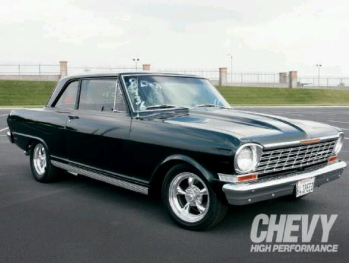 Black Chevy II Nova | Chevy ll nova | Pinterest | Cars ...