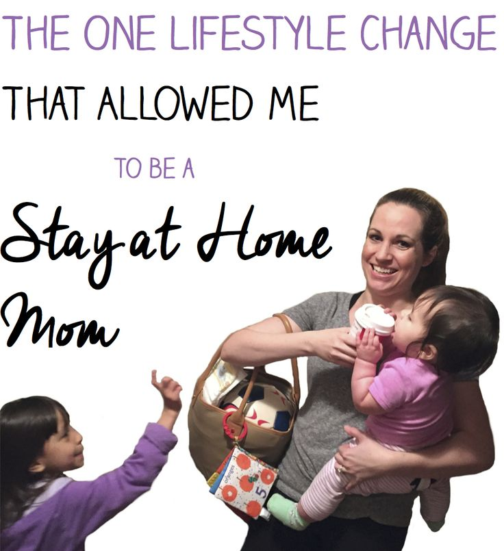 This change had a huge impact on our family budget - we saved so much money we could live comfortably on one income. #SaveMoney, Saving Money Tips