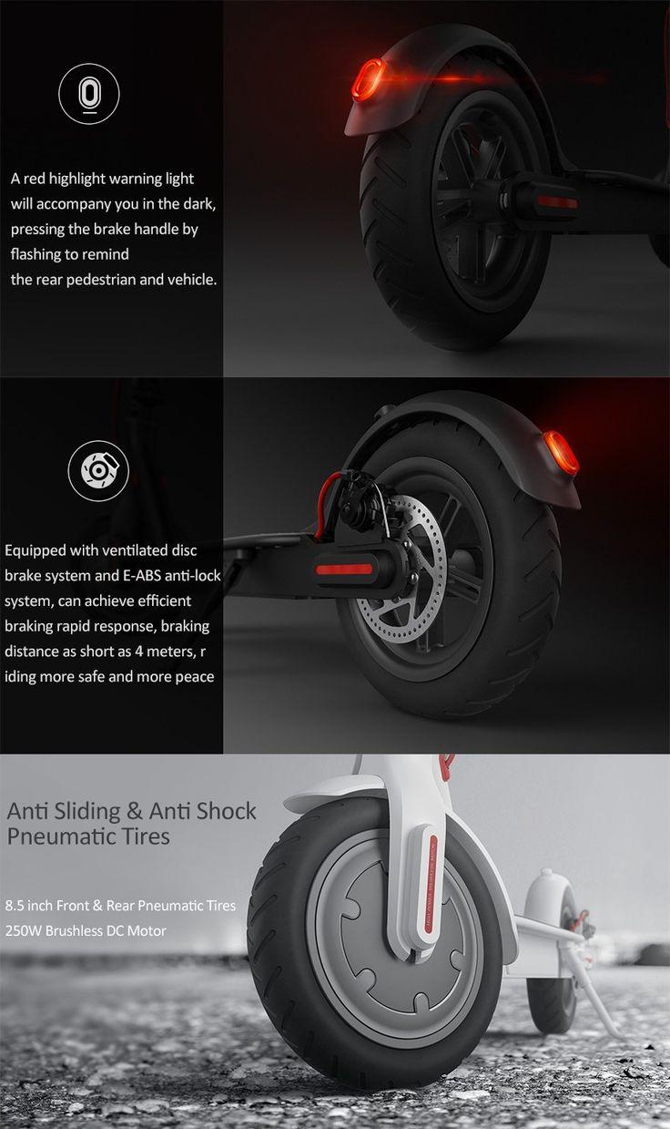 Xiaomi m365 ip54 12 5kg ultra light folding electric scooter intelligent bms 25 km