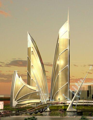 Palm Jebel Ali, Royal Haskoning, world architecture news, architecture jobs