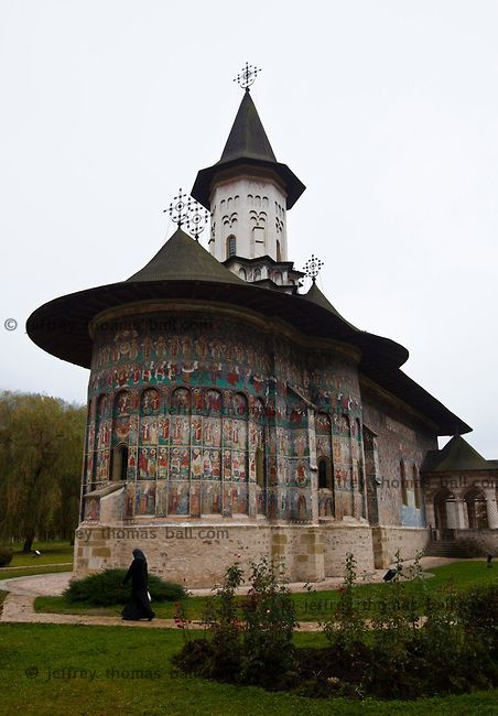 Painted monastery, Romania