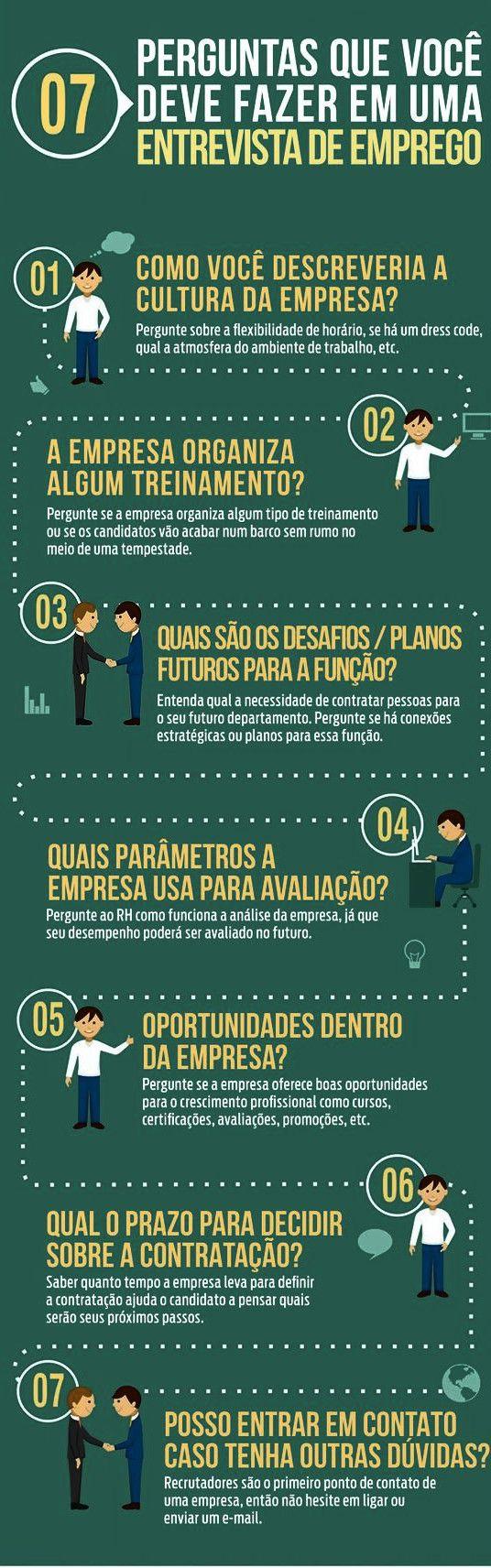 7 PERGUNTAS QUE VOCÊ DEVE FAZER EM UMA ENTREVISTA DE EMPREGO  www.guiacorporativo.com.br