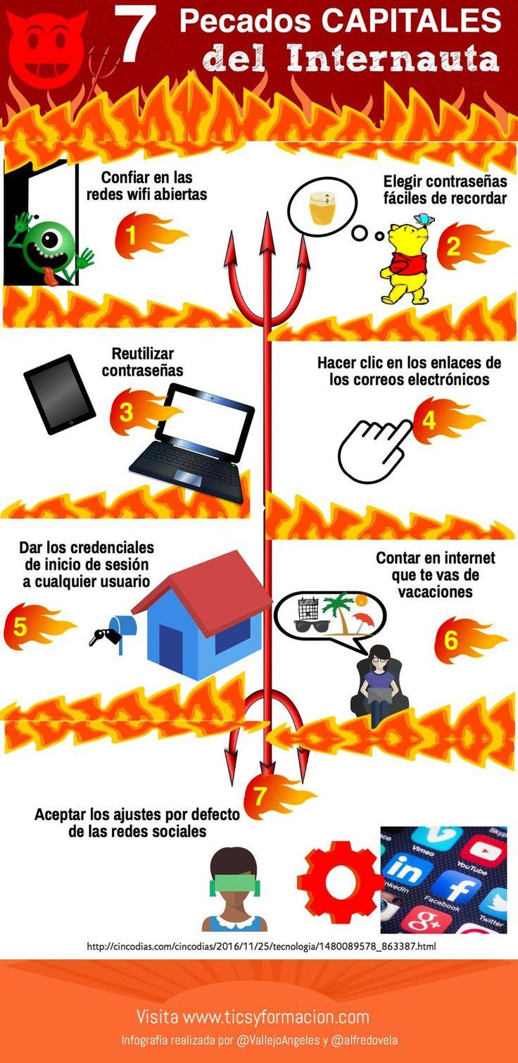 En esta ocasión descubrimos 7 errores graves de los internautas, ponen en peligro su seguridad, que se pueden evitar muy fácilmente.