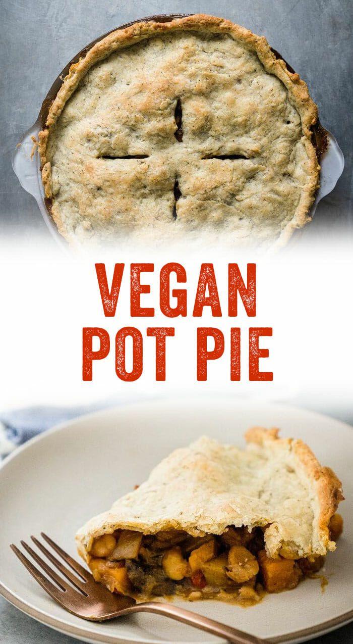 Best Vegan Pot Pie With Easy Homemade Crust A Couple Cooks Recipe Vegan Pot Pies Savory Vegan Dessert For Dinner