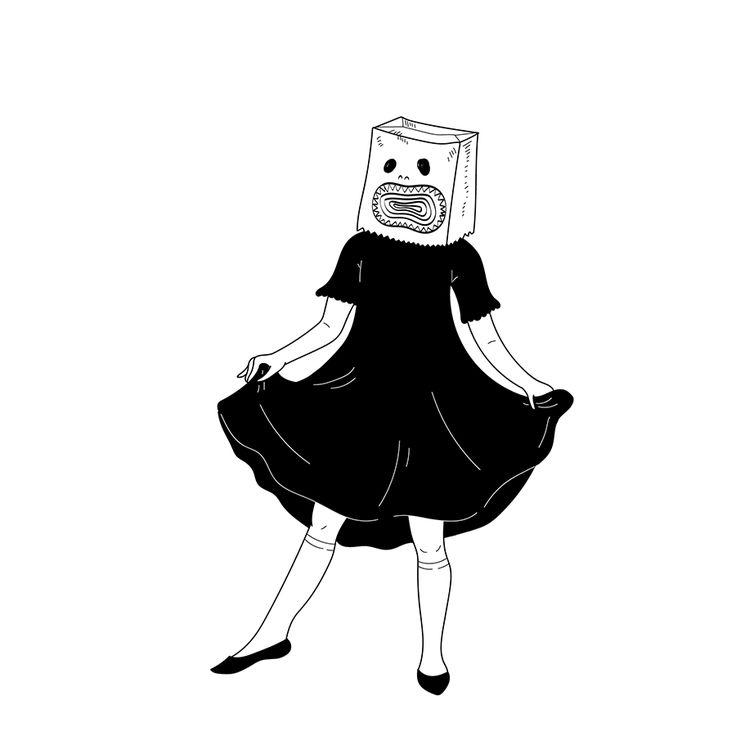 Paper Faces #4