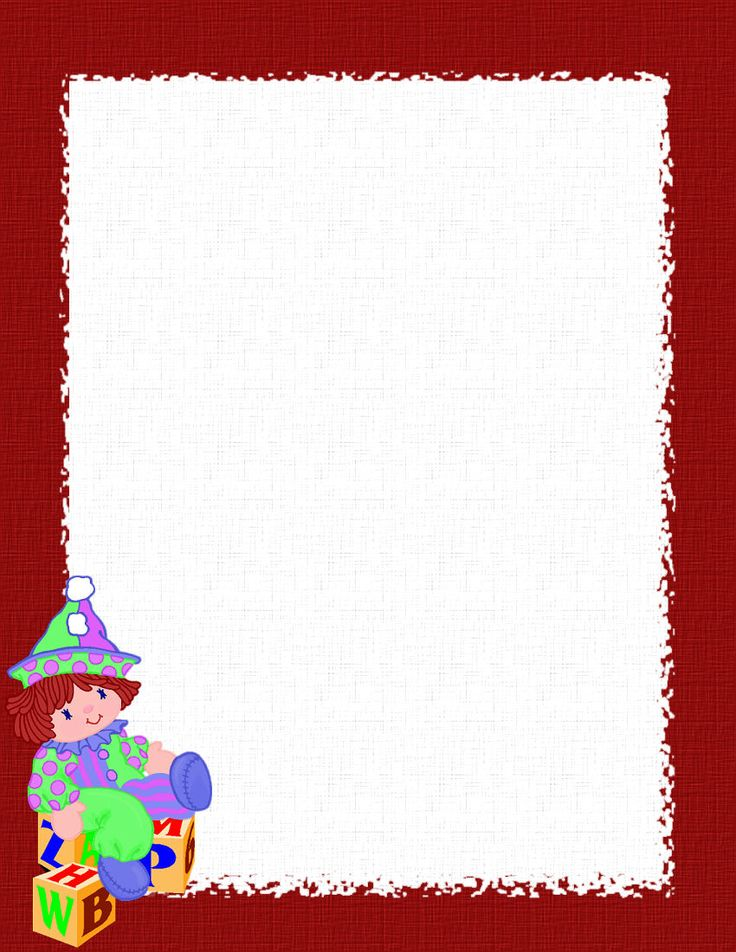 Holiday Stationery for Word | Free Christmas Stationery Templates ...