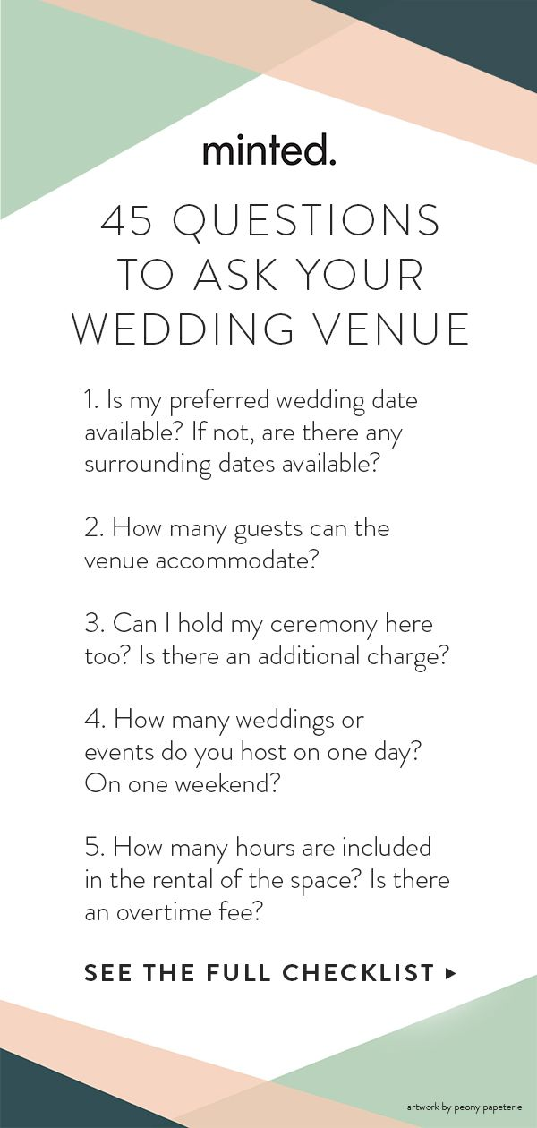 Wedding Venue Checklist Wedding Venues Checklist Wedding Planning Checklist This Or That Questions