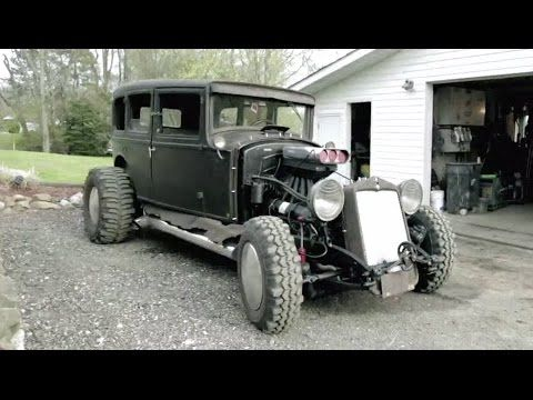 Building A Custom 1929 Model A Rat Rod with Military Surplus from GovLiquidation.com - YouTube