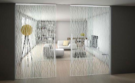Luxury Elegant Sliding Glass Door in Unique Design