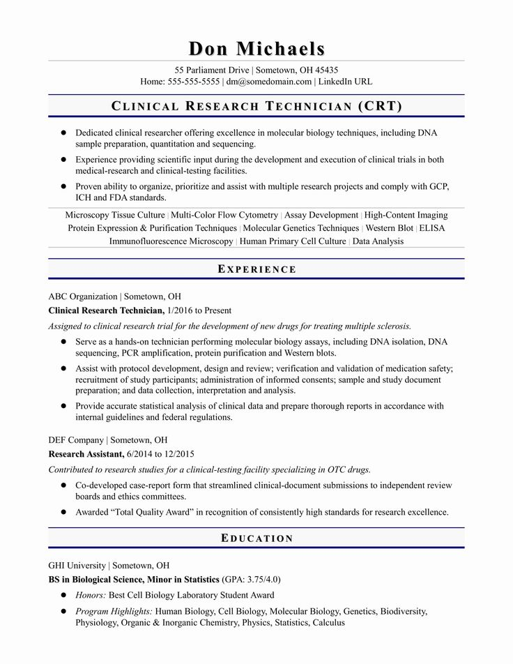 Graduate Research assistant Resume Elegant Entry Level