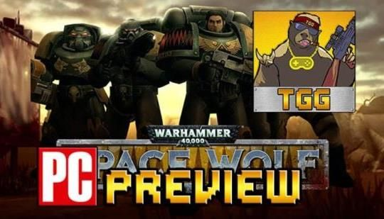 """Warhammer 40K: Space Wolf PC preview - A rather good turn-based strategy trading card game - TGG: """"In overall, Heroraft's """"Warhammer 40K:…"""
