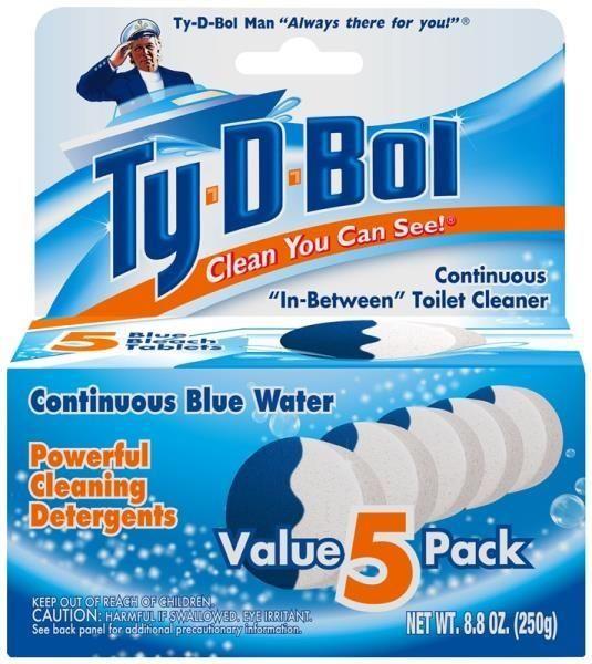 Ty D Bol 392500 12 Toilet Tablets Toilet Bowl Clean Toilet Bowl Toilet