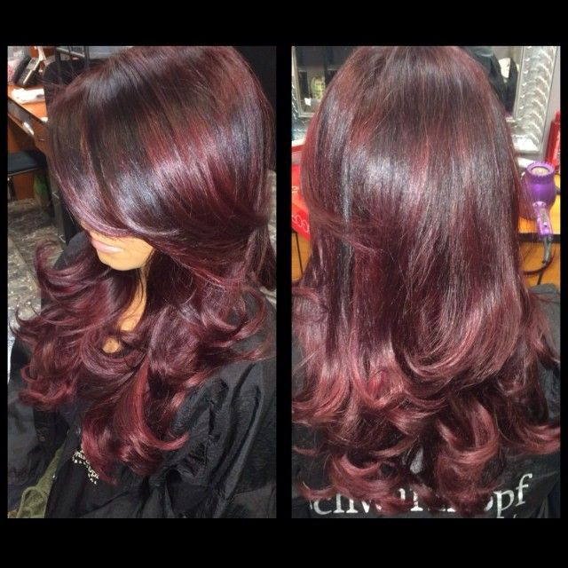 #ShareIG HELLO VIXEN needed a boost of color thanks @Dina Catalano & @jessicagrace143 color / blowout