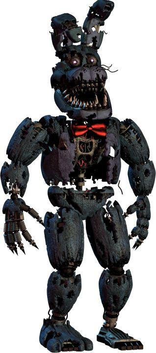 Nightmare Bonnie - Five Nights at Freddy's Wiki