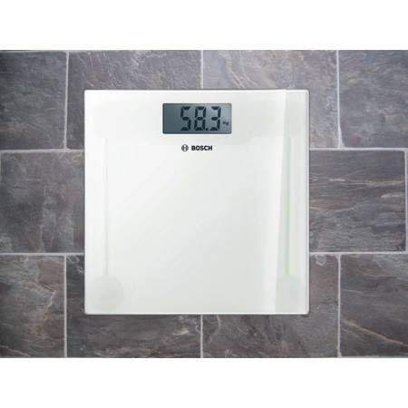 BOSCH Bathroom scale Check it out on: https://tjengo.com/badevaegte/319-elektronisk-personvaegt.html