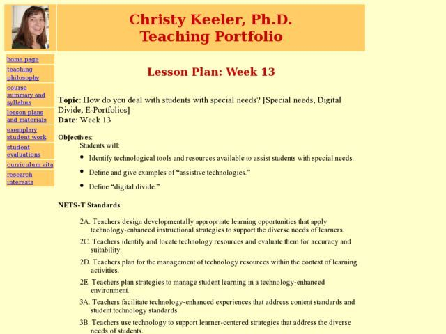 lesson plan for students with disabilities Vocabulary/reading lesson for students vocabulary/reading lesson for students with severe intellectual disabilities (this lesson plan may require.