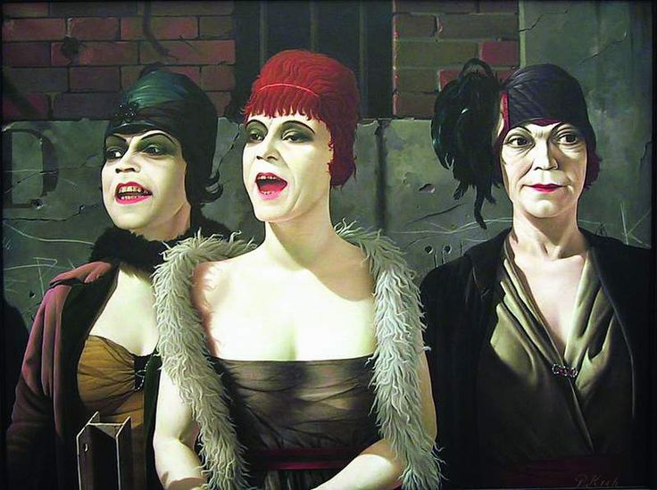 Pyke Koch |  Vrouwen in de straat (Women in the street), 1962 |  Museum voor Moderne Kunst Arnhem