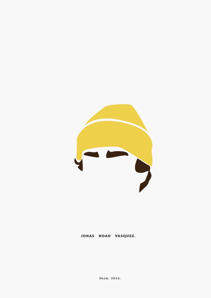Jonas Noah Vasquez. SKAM. 2016. __________minimal project - (Part Two) IG https://www.instagram.com/brbrgraphics/