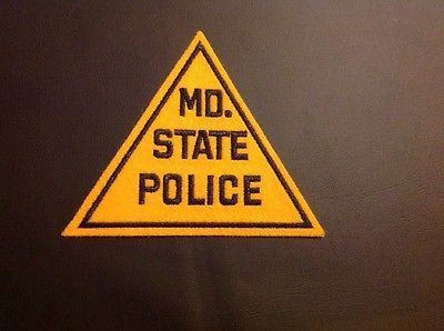 MD-State-police-Triangle-Shaped-Patch