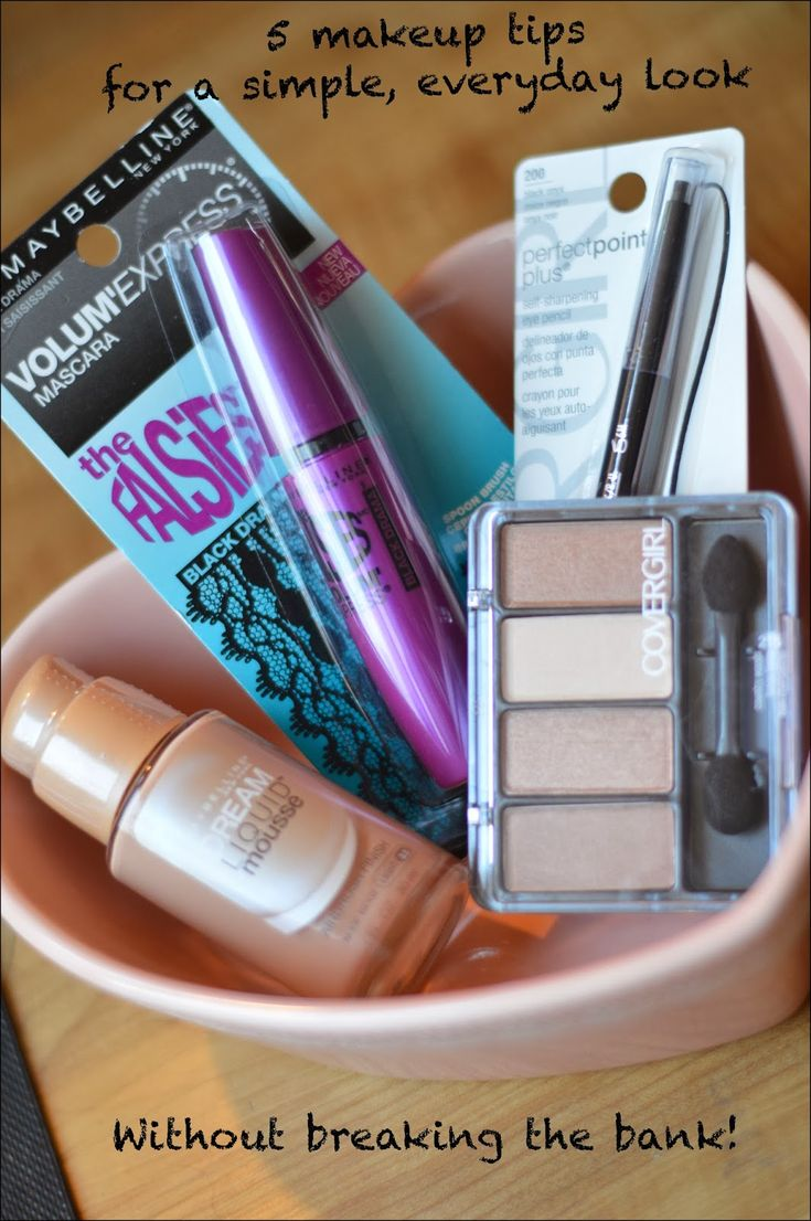5 makeup tips for a simple, everyday look...without breaking the bank. #WalgreensBeauty #shop #cbias